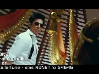 'Chammak Challo Ra.One' (video song) ShahRukh Khan