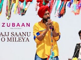 Ajj Saanu O Mileya Video Song - Zubaan