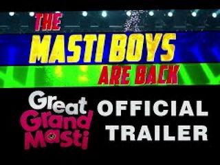 Gr3at Grand Masti Trailer