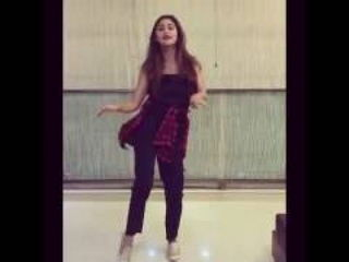 Krystle D'souza Accepted Beat Pe Booty Challenge By Showing Her Dance
