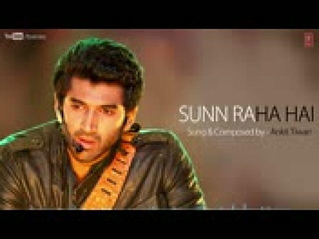 Sunn Raha Hai Na Tu Aashiqui 2 Full Song With Lyrics - Aditya Roy Kapur