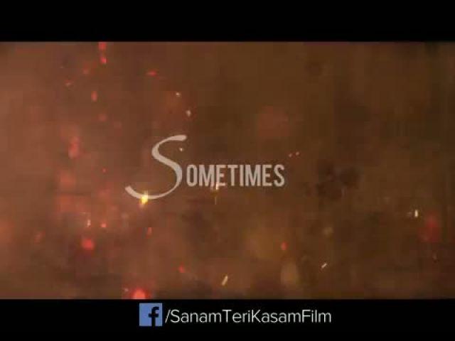 Bewajah Video Song - Sanam Teri Kasam