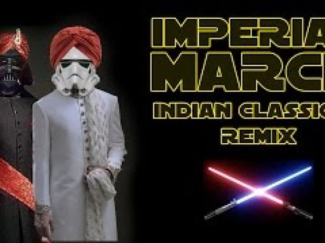 Star Wars: Imperial March - Indian Classical Remix