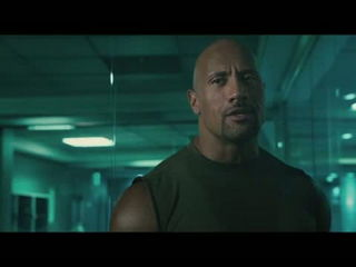 Furious 7 - The Rock vs Jason Statham