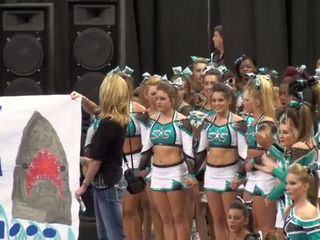SSX Cheer Extreme Raleigh Showcase SHARK BITE