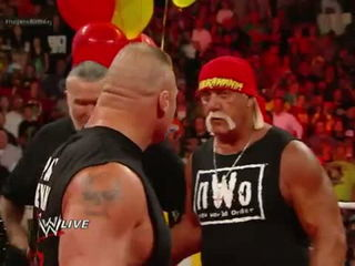 Brock Lesnar Crashes Hulk Hogan's Birthday Celebration