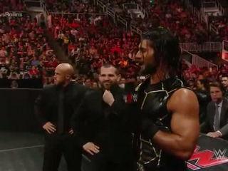 Seth Rollins vs Brock Lesnar Heavyweight Championship Match