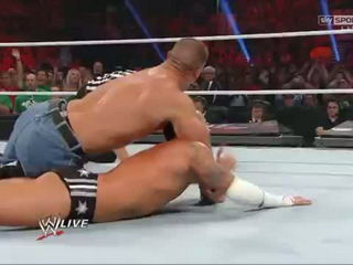 The Rock Saves John Cena and Gets Attacked