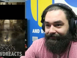 Reaction Based on Fantastic Beasts and Where to Find Them Official Trailer