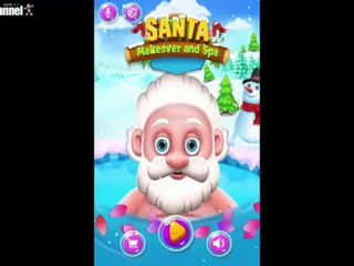 Santa Makeover And Spa Gameiva Educational Android İos Free Game GAMEPLAY VİDEO(2)