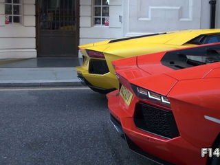 Lamborghini Aventador REV BATTLE