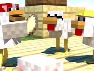 THE GREAT CHICKEN WAR (Minecraft Animation)