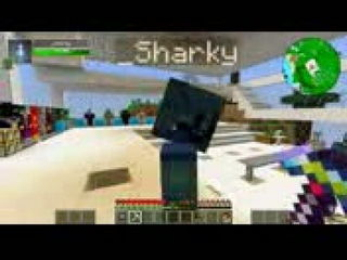 Minecraft Crazy Craft 30 Painting Sharky House