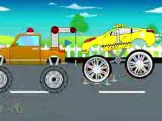 Tom And Jerry Cartoon - Monster Trucks For Children