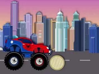 Spiderman Monster Truck