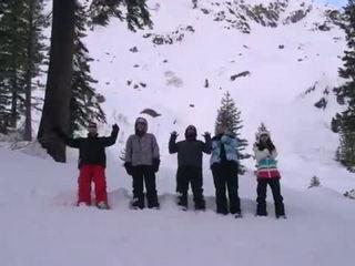 Mountain Top Snow Battle - Dude Perfect