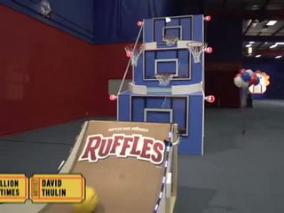 Giant Basketball Arcade Battle - Dude Perfect