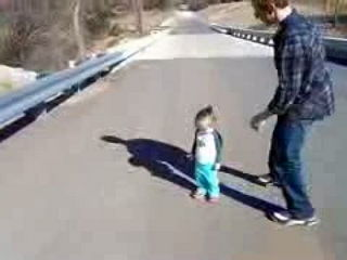 Babies Scared of Their Shadow