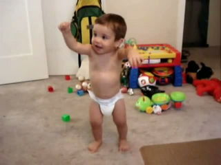 Belly Dancing Baby