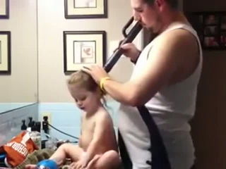 How A Father Does Hair