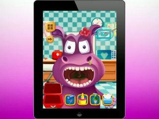 Animal Tonsil Doctor - Kids Surgery Game
