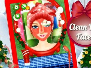 Christmas Spa And Makeover