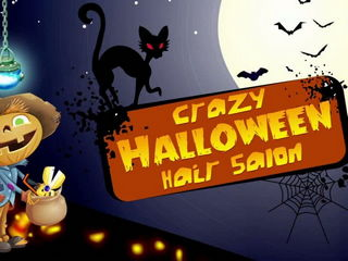 Crazy Halloween Hair Salon