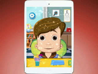 Cute Kids Eye Clinic - Free Kids Game