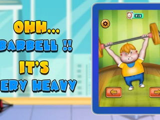Fat Man Gym - Kids Game