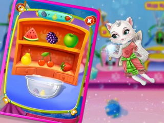 My Little Kitty Tooth Fairy - My Little Fairy Games By Gameiva