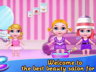 Sweet Baby Beauty Salon - Baby Beauty Salon Games By Gameiva