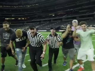 DP vs NFL Battle - Dude Perfect