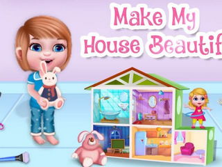 My Princess Doll House Cleanup - Princess House Cleanup Games By Gameiva