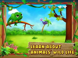 My Little Animal Zoo For Kids - iOS Android Gameplay Trailer By Gameiva