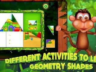 Kids Learn Geometry Shapes - iOS Android Gameplay Trailer By Gameiva