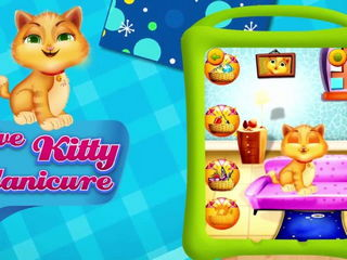 Kitty Fancy Nail Salon Shop - iOS Android Gameplay Trailer By Gameiva