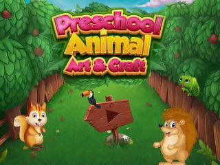 Preschool Animal Art & Craft - iOS Android Gameplay Trailer By Gameiva