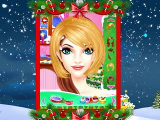 Christmas Girls Makeup And Spa - iOS Android Gameplay Trailer By Gameiva