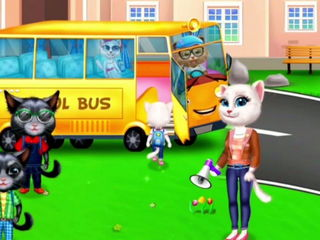 My Little Kitty School Trip - My School Trip Games By Gameiva