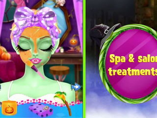 Princess Halloween Spa Salon - Princess & Halloween Salon Games By Gameiva