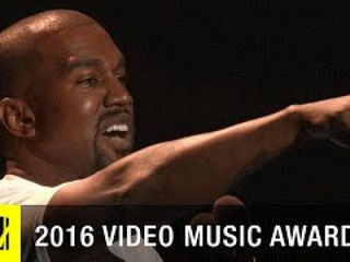 Kanye West's Moment 2016 Video Music Awards