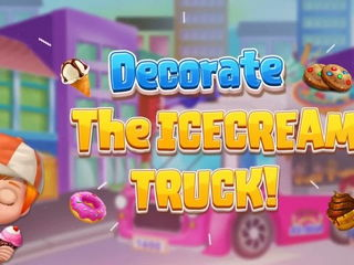 My Little Icecream Truck - My Little Icecream Games By Gameiva
