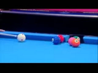 Pool trick shot world record