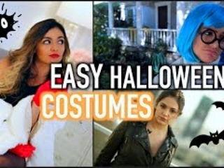 5 Adorable Quick Easy DIY Halloween Costumes!!