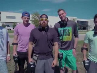 Metal Detector Battle - Dude Perfect