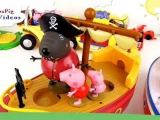 Peppa Pig Pirate Party at Boats