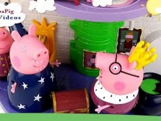 Peppa Pig Royal Family at Little Kingdom Castle