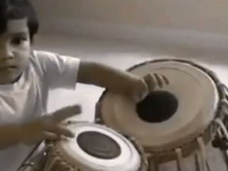 God's Gifted Talent - 5 years old child playing Tabla