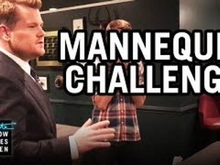 Mannequin Challenge Late Late Show