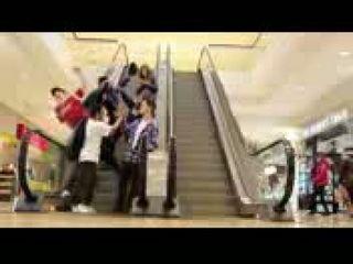 Manneguin Challenge In Public Prank